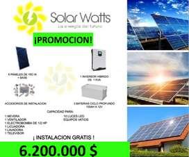 SISTEMA ENERGIA SOLAR PARA TU CASA O NEGOCIO