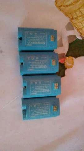 Oferta baterias para palancas de Wii
