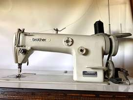 Maquina Coser Recta Brother Db2 B755-3 Industrial Impecable