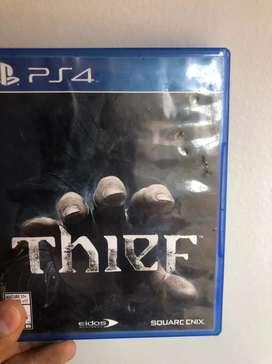 Playstation 4 Thief  condicion usado accion y aventura