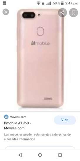 Vendo celular con huella