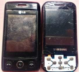 Samsung Gt-c3750 Y LG-t300 Para Repuesto Negociables.