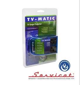 Protector de voltaje para television