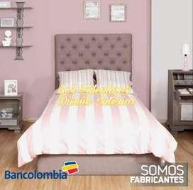 Somier colchón y cabecera