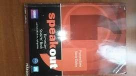 SPEAKOUT text book Elementary, pre intermediate originales, usados