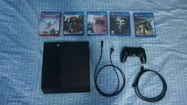 PS4 500GB 5juegos 1controlOriginal