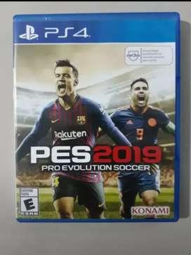 PES 19 para PS4 COMO NUEVO