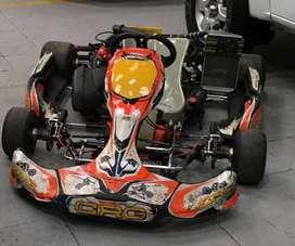 Kart Rotax 125MAX - Chasis CRG