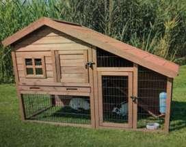 Casas en Madera para Conejos