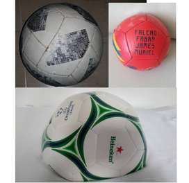 3 Balones de futbol ADIDAS HEINEKEN PONY