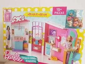 Barbie Centro Cuidado de Mascotas