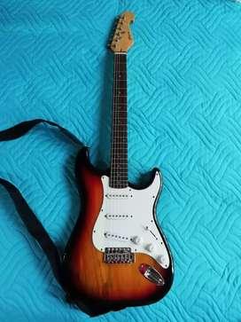Guitarra Eléctrica Stingrey + Amplificador Hartke