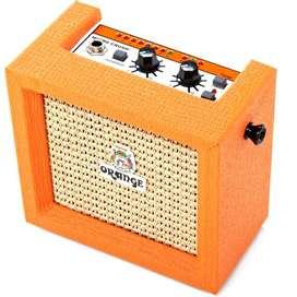 Cabina Orange MICROCRUSH Guitarra electrica   3W  Music Box