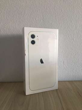 Iphone 11, 128gb blanco
