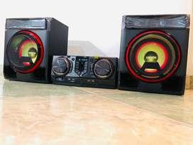 Equipo de sonido LG Xboom Cl65 950 Watts Rms Bluetooth CD usb nuevo garantía 1 año