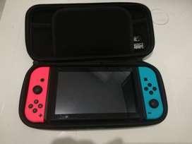 Nintendo Switch perfecto estado + 2 Juegos + Funda