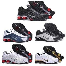 Zapatillas tennis Nike Shox 5 colores nuevos men