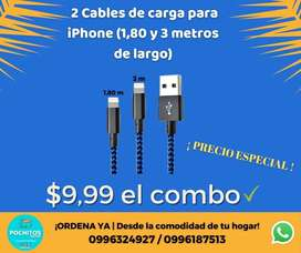 Cables para iPhone