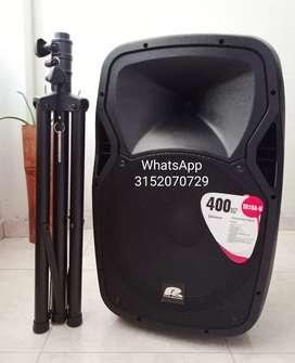 Cabina de 15 Pro Audio TR15A-ll sonido profesional