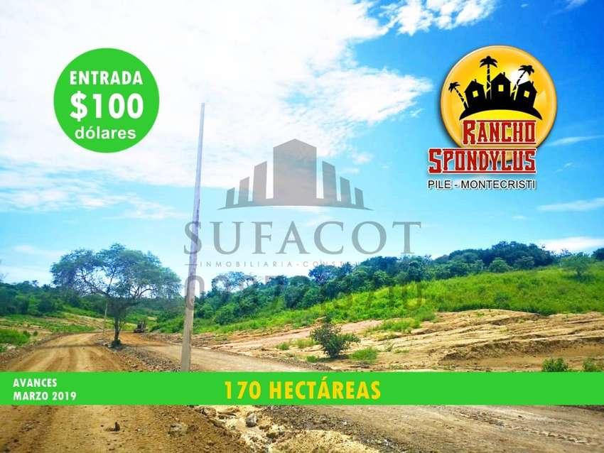 INVIERTE AHORA MISMO, CON SOLO 100 USD DE ENTRADA, TU QUINTA VACACIONAL, PILE MONTECRISTI, SD1 0