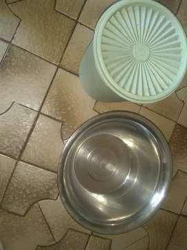Tupper original y bowls acero