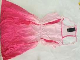 Vestido fibrana