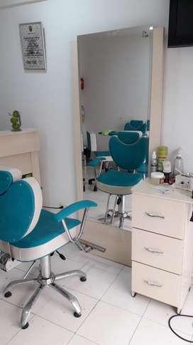 Venta de muebles de peluquería
