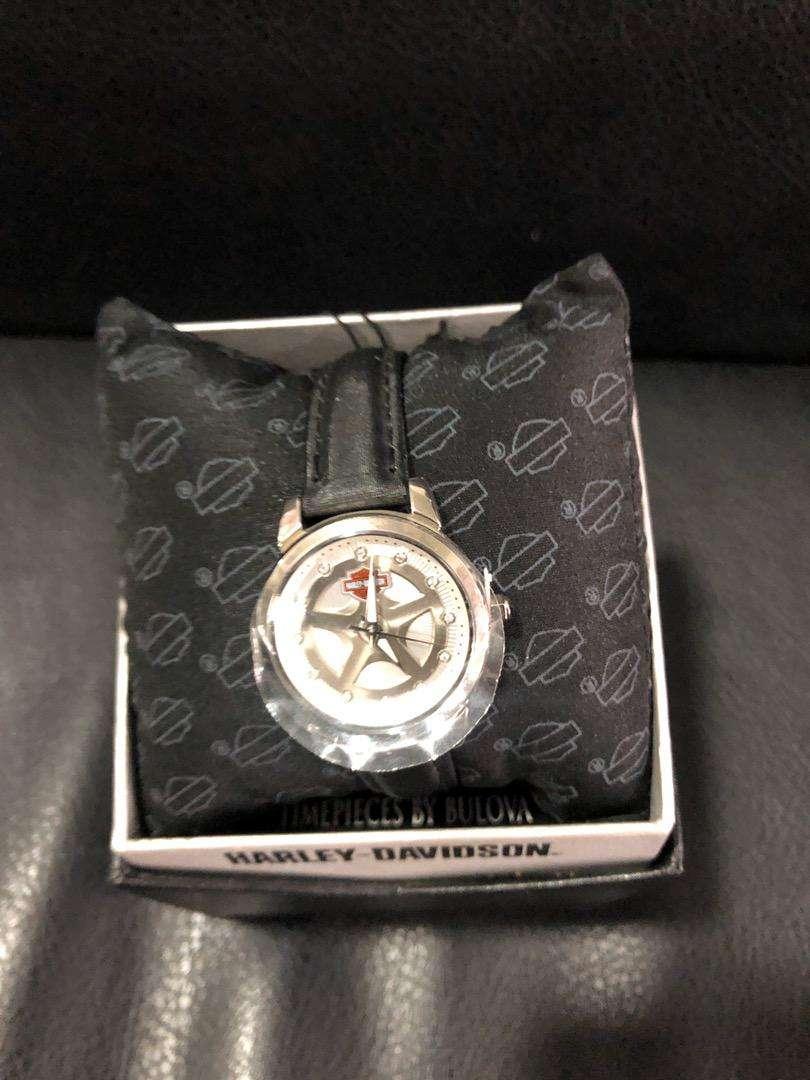 Reloj mujer harley davidson original 0