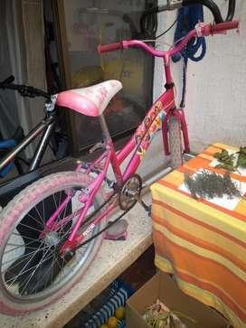 Ganga-bicicleta para niña