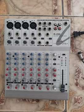 Consola amplicador