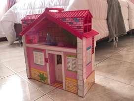 Casa barriguita Barbie