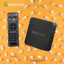Convertidor A Smart Tv TV Box Mxq Television Inteligente Netflix Karaoke Youtube Canales
