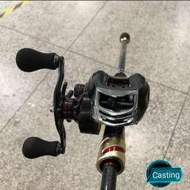 Caña de pescar tipo casting