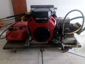 Hidrolavadora industrial de 8 GPM 3500 PSI