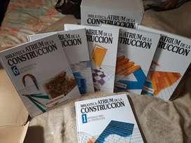 Venta de colección de libros Atrium de la construcción de Arquitectura e Ingeniería