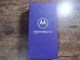 Motorola one vision 128gb, 4gb de RAM en excelentes condiciones