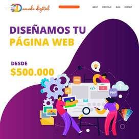 Creación y Diseño de Paginas Web y Administración de Redes Sociales