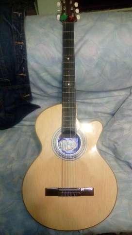 Vendo o cambio guitarra acustica con forro