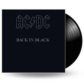 Ac/dc - Back In Black Vinilo Lp