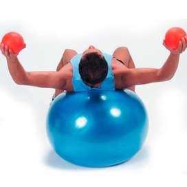 Balón Yoga Fitness Pilates Pelota Instable Ejercicio Gymball Fitball