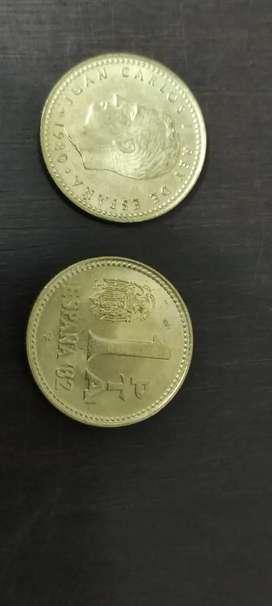 Vendo hermosa moneda