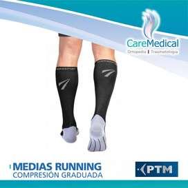 Medias Running de Compresión Graduada 1520 mm/Hg PTM TheraSport Ortopedia Care Medical