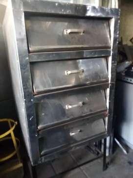 Horno de panadería 3 camaras