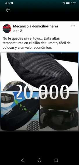 Malla anti calor para motos