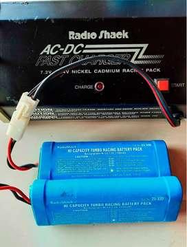 Chargador flash AC/DC 10.5v radio shack