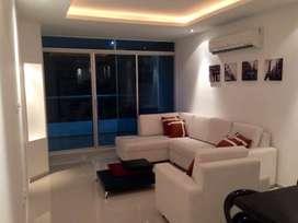 Tonsupa, departamento, amoblado, 75 m2, 2 habitaciones, 2 baños, 1 parqueadero