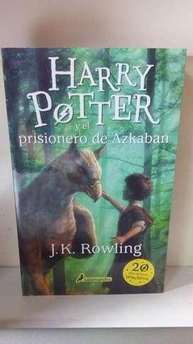 Libro Harry Potter y El Prisionero de Azkaban . J.K. Rowling