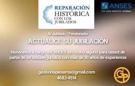ACTUALICE SU JUBILACIÓN Reparación Histórica