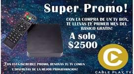 Tv Box + Servicio de TV!