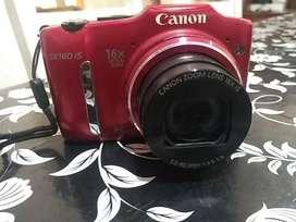 Cámara de fotos semiprofesional Canon PowerShot Sx160is